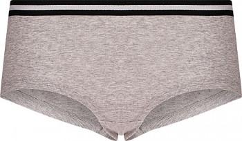 Comazo Earth Dámské sportovní kalhotky panty z biobavlny - šedá melange