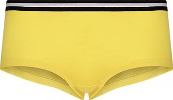 Comazo Earth Dámské sportovní kalhotky panty z biobavlny - žlutá lemon