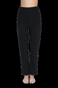 Albero dámské teplákové kalhoty na jógu z biobavlny - černá