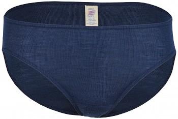 Dámské kalhotky z merino vlny a hedvábí - tmavě modrá navy
