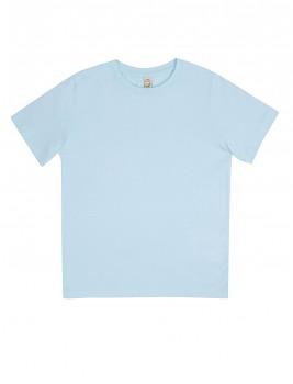 Dětské tričko z 100% biobavlny - světle modrá