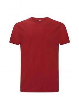 CC Pánské tričko ze 100% biobavlny - červená
