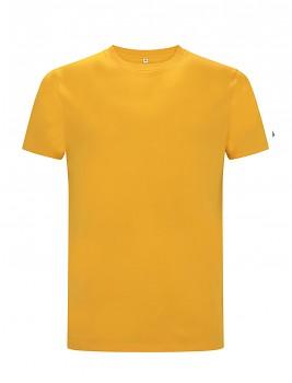 CC Pánské tričko ze 100% biobavlny - žlutá gold