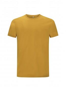 CC Pánské tričko ze 100% biobavlny - žlutá mango