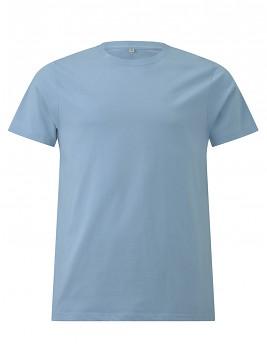 CC Pánské tričko ze 100% biobavlny - světle modrá aquamarine