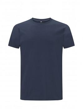 CC Pánské tričko ze 100% biobavlny - modrá denim