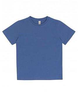 Dětské tričko z 100% biobavlny - modrá faded denim