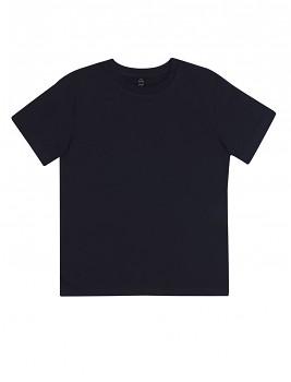 Dětské tričko z 100% biobavlny - tmavě modrá navy
