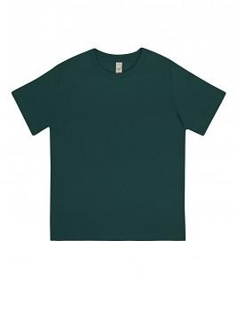 Dětské tričko z 100% biobavlny - zelená bottle
