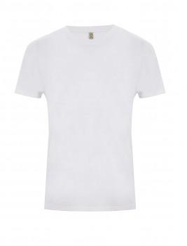 SALVAGE Unisex tričko z recyklované biobavlny a PET - bílá dove