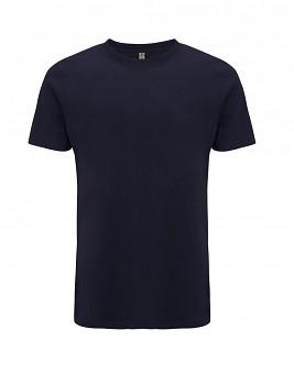 SALVAGE Unisex tričko z recyklované biobavlny a PET - tmavě modrá navy