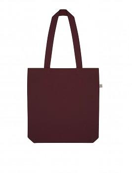 Nákupní taška SALVAGE TOTE z recyklované biobavlny a PET - fialová burgundy