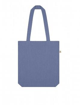 Nákupní taška SALVAGE TOTE z recyklované biobavlny a PET - světle modrá denim melange
