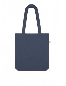 Nákupní taška SALVAGE TOTE z recyklované biobavlny a PET - tmavě modrá denim melange