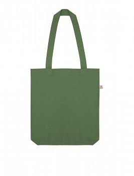 Nákupní taška SALVAGE TOTE z recyklované biobavlny a PET - zelená leaf