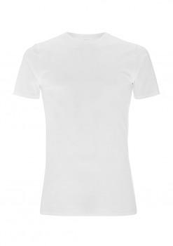 Pánské tričko z biobavlny - bílá