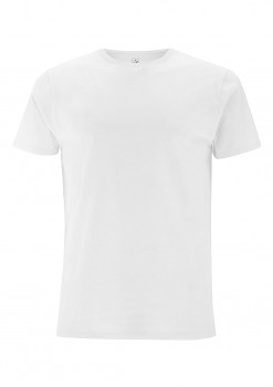 Pánské tričko ze 100% biobavlny - bílá