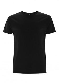 Pánské tričko ze 100% biobavlny - černá