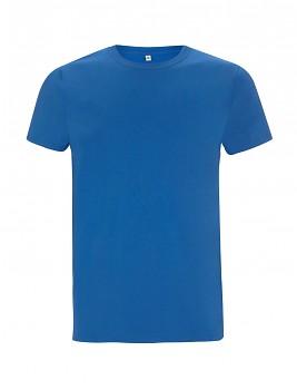 Pánské/unisex tričko s krátkými rukávy ze 100% biobavlny - modrá royal