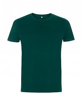 Pánské/unisex tričko s krátkými rukávy ze 100% biobavlny - zelená bottle