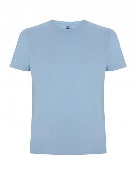 FS pánské/unisex tričko ze 100% fairtrade biobavlny - světle modrá aquamarine