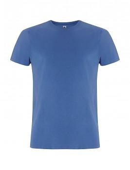 FS pánské/unisex tričko ze 100% fairtrade biobavlny - modrá faded denim
