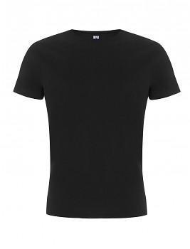 FS pánské/unisex tričko ze 100% fairtrade biobavlny - černá