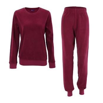 BONNIE dámské pyžamo ze 100% biobavlny - fialová grenadine