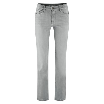 DONNA Dámské džíny z biobavlny - šedá denim