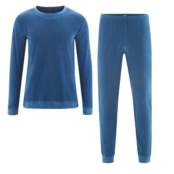 BJÖRN pánské pyžamo ze 100% biobavlny - modrá denim