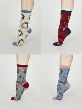 ADELLA  dámské ponožky z bambusu a biobavlny
