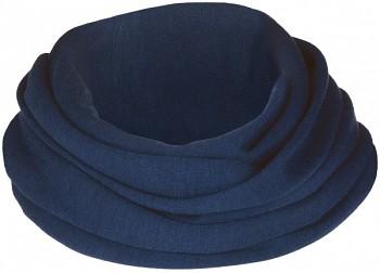 Dámská šála (nákrčník) - tmavě modrá navy