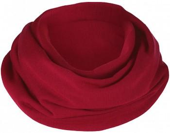 Dámská šála (nákrčník) - červená malve