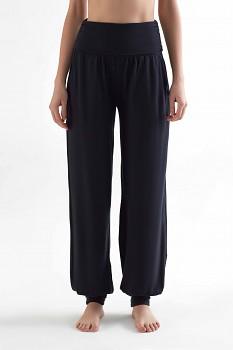 TRUENORTH W´S dámské kalhoty na jógu z tencelu - černá
