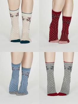 ELIAS  dámské ponožky z bambusu a biobavlny