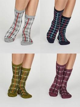 MATILDA dámské ponožky z bambusu a biobavlny