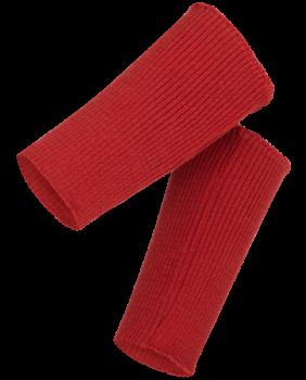 Dámské návleky z bio merino vlny - červená