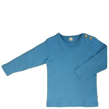LANG dětské tričko ze 100% biobavlny - modrá nordic
