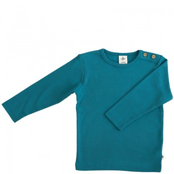 LANG dětské tričko ze 100% biobavlny - modrá ocean