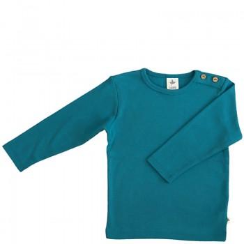 LANG dětské tričko ze 100% biobavlny - modrá ozean