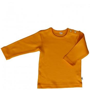 LANG dětské tričko ze 100% biobavlny - žlutá sun