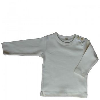 LANG dětské tričko ze 100% biobavlny - přírodní