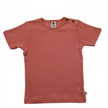 KURZ dětské tričko ze 100% biobavlny -  meruňková