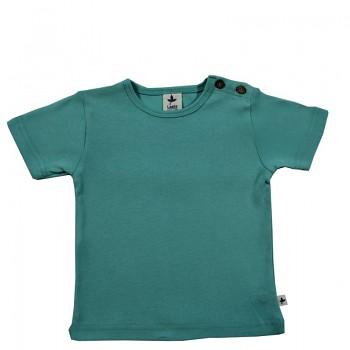 KURZ dětské tričko ze 100% biobavlny -  tyrkysová