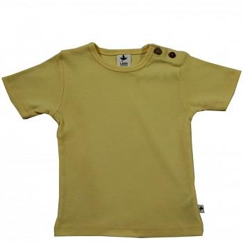 KURZ dětské tričko ze 100% biobavlny -  žlutá citron