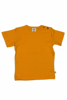 KURZ dětské tričko ze 100% biobavlny -  žlutá sun
