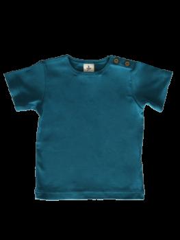 KURZ dětské tričko ze 100% biobavlny -  modrá sea