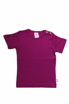 KURZ dětské tričko ze 100% biobavlny - fialová orchidee