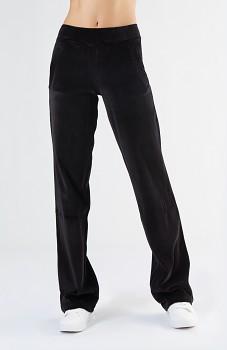 Albero dámské teplákové kalhoty ze 100% biobavlny - černá