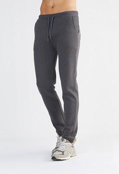 Albero pánské teplákové kalhoty ze 100% biobavlny - tmavě šedá antracit